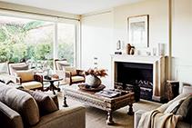 Natural Stone Fireplaces Melbourne by Richard Ellis Design