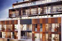 Glass Balustrades for Melbourne Apartments from Axiom Group