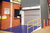 Pit-Less Goods Hoist for Storage Facility by Southwell Lifts & Hoists