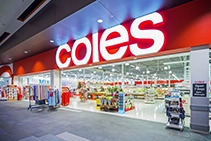 Commercial Internal Signage for Coles by SI Retail