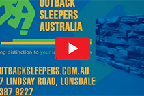 Concrete Sleeper Retaining Walls from Outback Sleepers Australia