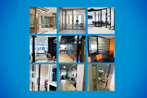 Aluminium Interior Fit-outs Sydney by Aluminium Partition Systems