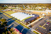 Bowling Green Canopy for Moama Bowling Club from MakMax