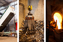 Recycled Metal Infrastructure Castings Manufacture by EJ