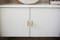 Textured Kitchen Cabinet & Vanity Doors by 3D Wall Panels