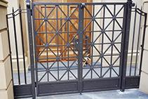 Single Wrought Iron Garden Gates from Budget Wrought Iron
