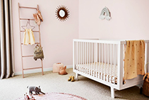 Nursery Paint Colour Ideas from Dulux