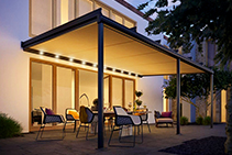 Custom Conservatory Awnings by Weinor from Undercover Blinds