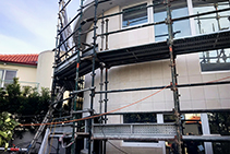 Curved Cladding Projects Sydney with LATICRETE