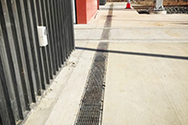 Tram Rail Integrated Stormwater Drain System from ACO