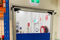 Heavy Duty PVC Swing Doors from Premier Door Systems
