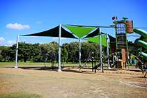 Playground Shade Sails from Miami Stainless