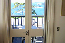 Timber French Doors for Classic Balconies by Wilkins Windows