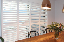 Custom Plantation Shutters from SP Screens
