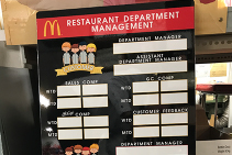 Fast Food and Restaurant Signage Upgrades from Architectural Signs