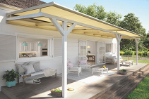 OptiStretch Retractable Conservatory Roof Sunshine Coast from Blinds by Peter Meyer
