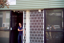 DIY Security Doors for Business Lockdowns from ATDC