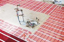 Radiant Underfloor Heating for Tiles & Stone from Amuheat