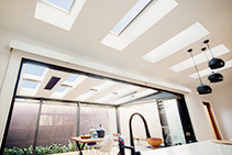 Velux Skylights Featured on The Block from Attic Group
