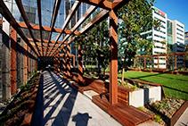 Versijack Paver Pedestals for Sky Park Melbourne from KHD