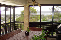 COLORBOND® Fixed or Adjustable Louvres from Superior Screens