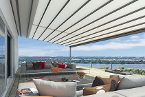 Versatile Pergola Outdoor Awning in the South Coast from Blinds by Peter Meyer