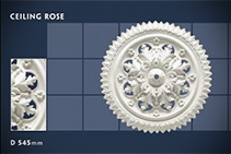 545mm Ceiling Roses - 19 by CHAD Group