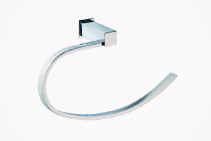 Chrome Towel Holders for Guest Bathrooms from Tilo Tapware