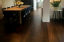Roasted Hardwood Flooring from Hazelwood & Hill