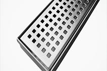 1000 x 70mm Square Pattern Grates from Vincent Buda & Co