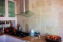 Light-medium Tumbled Travertine Tiles from DecoR Stone