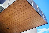 woodLINE Contemporary Timber Lining from Hazelwood & Hill