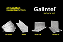 Lintels & T-bars Available Locally from Galintel