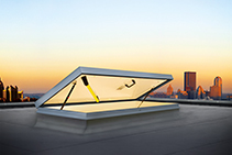 Aluminium Roof Hatches for Noise Reduction from Gorter