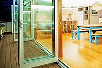 Invisi-Guard Security Doors Available from Vista Windows