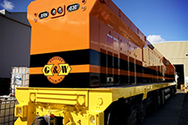 Primers & Coatings for GWA Locomotives from Dulux Protective Coatings