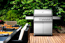 2- and 4-burner Gas Barbeques from Thermofilm