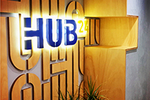 Business Reception Signage Melbourne by Paragon