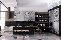 Cosmopolitan Honed Marble Slabs from RMS Marble