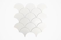 Fish Scale Wall & Floor Tiles - New Designs from MDC Mosaics