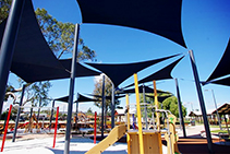 Playground Shade Cloths with UVR Protection from Polyfab
