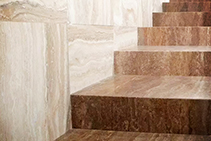 Noce Italian Travertine Pavers from RMS Marble