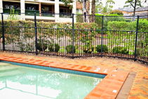 Compliant Polycarbonate Swimming Pool Fencing by Allplastics