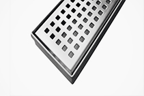 1800 x 70mm Square Pattern Grates from Vincent Buda & Co