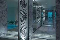 Artistic Hand-Cut Mosaics for Four Seasons Hotel by TREND