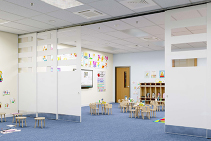 Dynamic Door Hardware for Flexible Educational Spaces by Brio