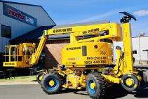 Rail Boom Lift SuperElevate RR14EVO3 for Hire from Preston Hire
