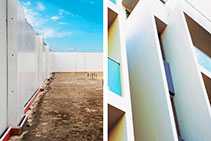 Polymer-based Permanent Formwork for Concrete Walls by AFS