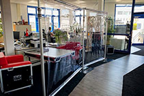 Portable Modular Space Partitions from DQ