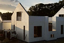Energy Saving Residential Construction by Insulbrick ICF